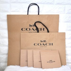 💖Bundle of Coach Shopping Bags and Boxes